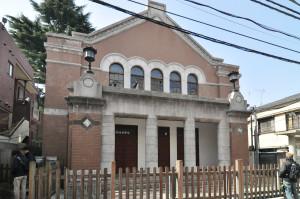求道会館の外観